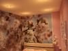 Цветы на натяжных потолках. Натяжные потолки Петербург. Натяжной потолок цена