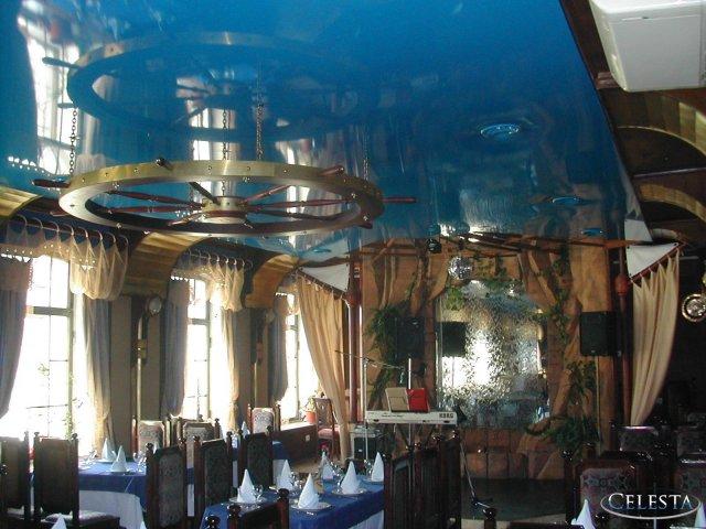 Натяжные потолки для клубов и ресторанов в петербурге