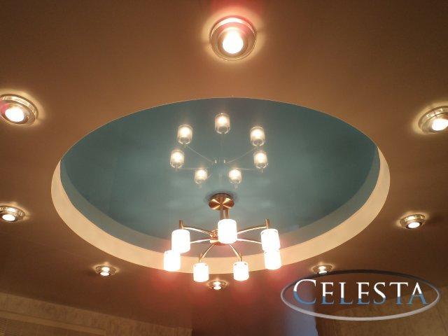 Многоуровневые натяжные потолки для всех типов помещений