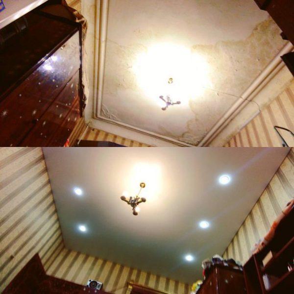 Как подготовить комнату к монтажу натяжного потолка