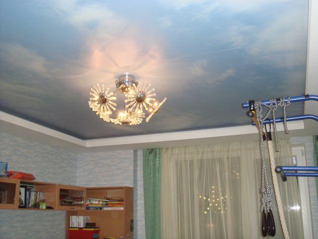 You are currently viewing Натяжные потолки в детской