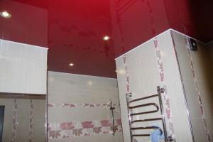 Read more about the article Натяжные потолки в ванной