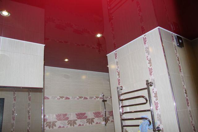 You are currently viewing Натяжные потолки в ванной