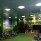 Натяжные потолки в конференц зале