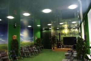 Read more about the article Натяжные потолки в конференц зале