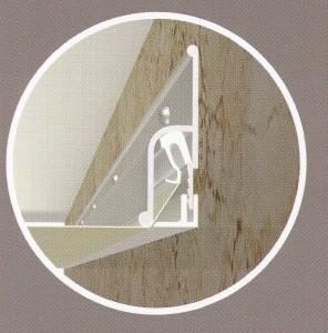 Профиль стеновой алюминиевый