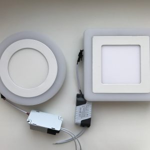 Светильник Lumia ультратонкий, круг,квадрат. 3х режимные.
