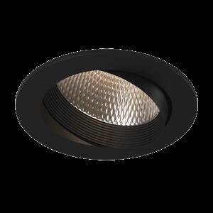 12Вт. Светильник светодиодный, встраиваемый, наклонный, серия DL-KZ