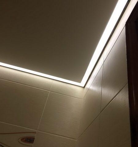 Контурный профиль для светодиодной ленты