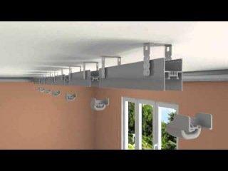 Парящие линии для натяжных потолков