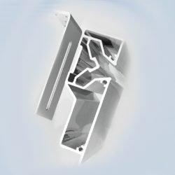 Багет для 2-х уровневых потолков регулируемый
