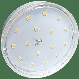 Светодиодная лампа Ecola GX53 LED 8,5W 220V 4200K прозрачное стекло (композит) 27×75