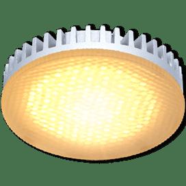 Светодиодная лампа Ecola GX53 LED 6W 220V, золотистый свет, матовое стекло 27×75