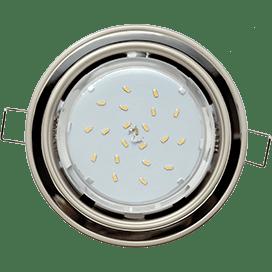 Встраиваемый светильник Ecola GX53 H4 «2 цвета» 38×116
