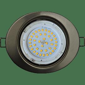 Встраиваемый светильник Ecola GX53 H4, овальный или квадратный
