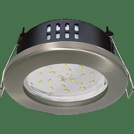 Встраиваемый светильник Ecola GX53 H4, влагозащищенный IP65, 55×98